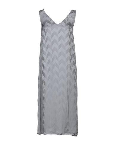 Купить Платье длиной 3/4 светло-серого цвета