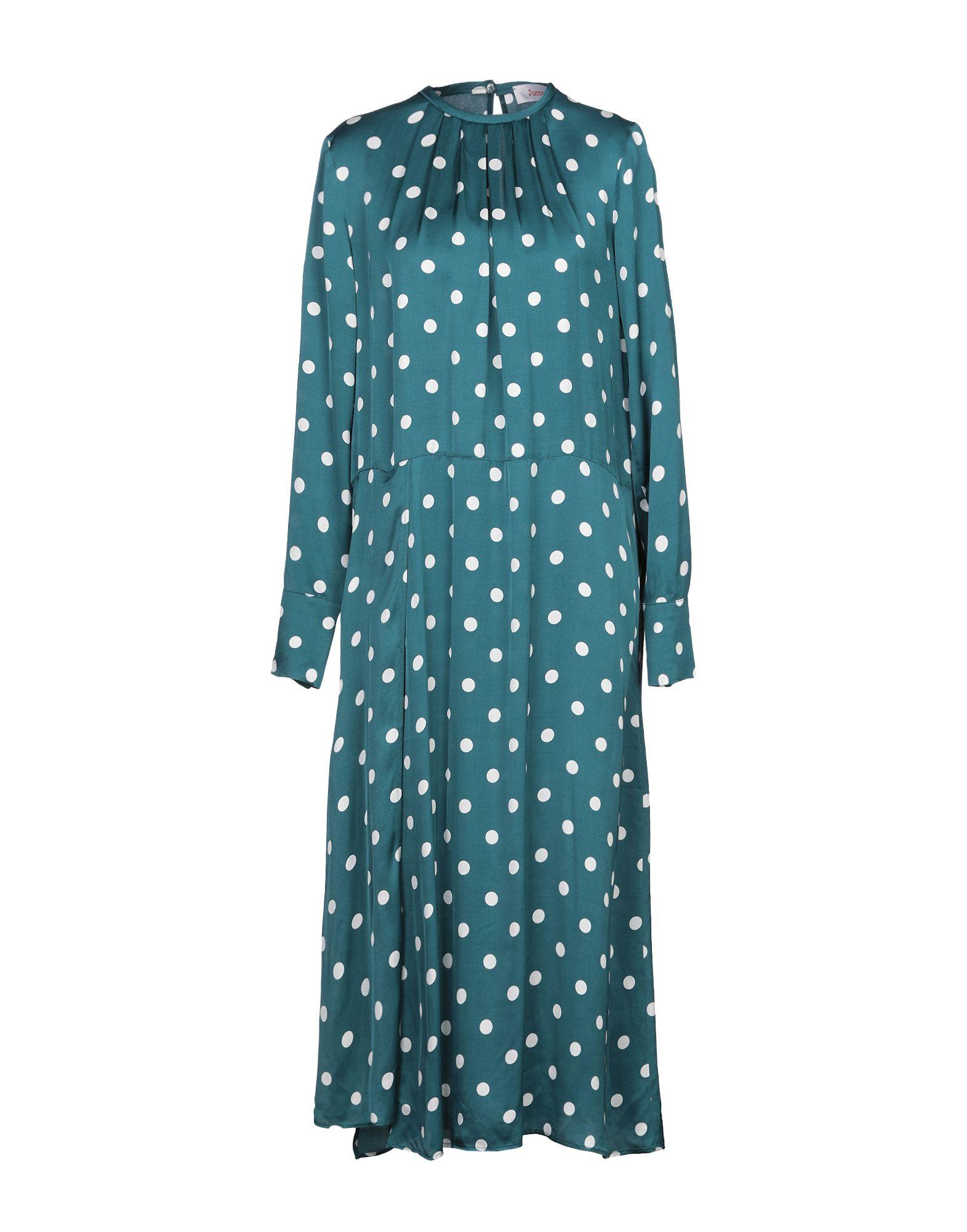 Фото - JUCCA Платье длиной 3/4 платье комбинезон в горошек 1 мес 3 года