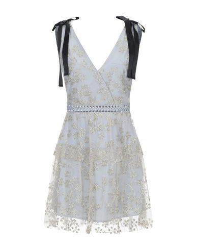 Купить Женское короткое платье  светло-серого цвета