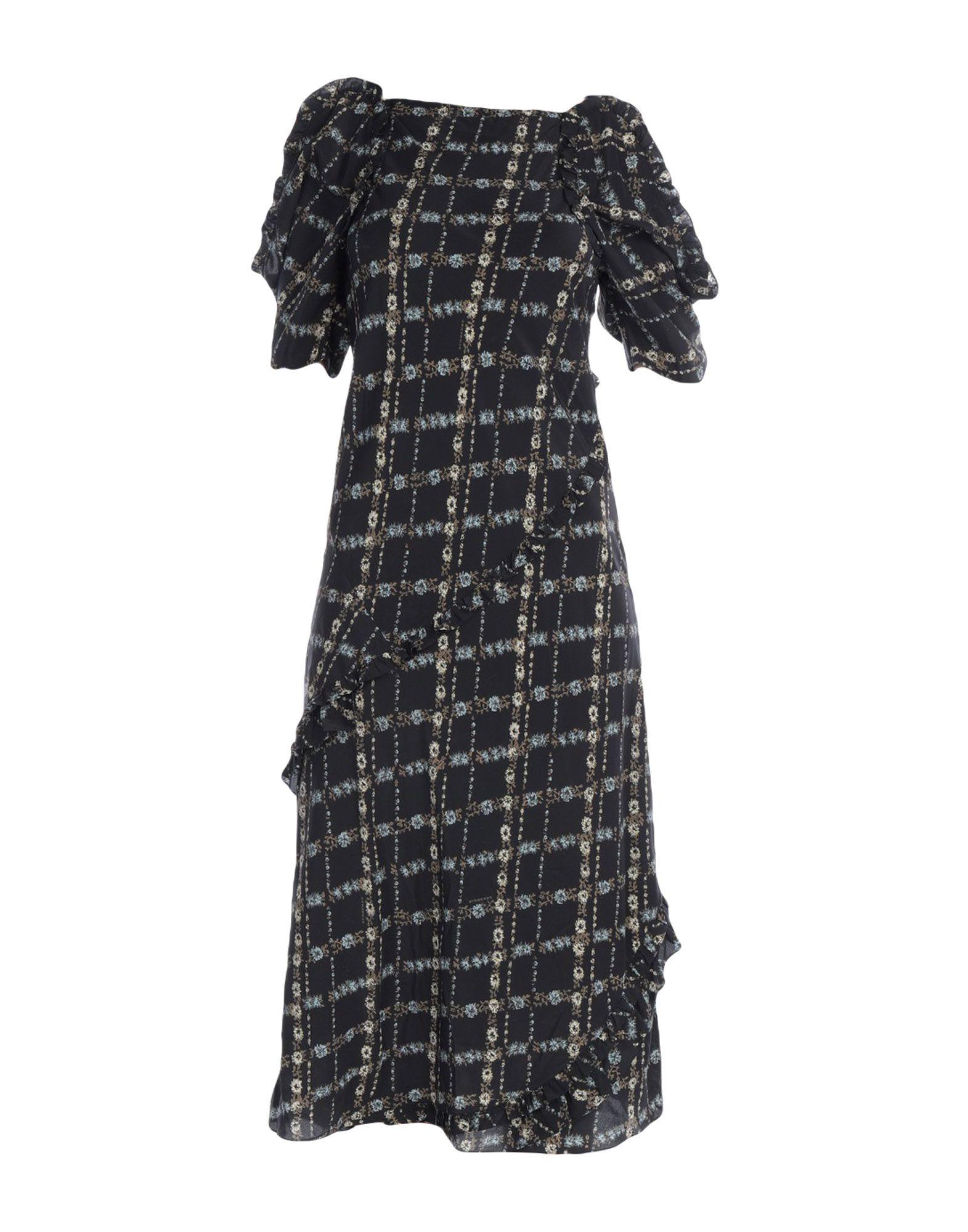 BURBERRY Платье длиной 3/4 burberry платье