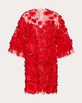 EMBELLISHED ORGANZA DRESS