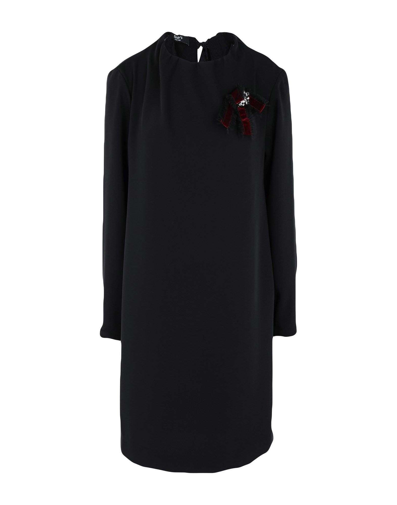 Фото - SISTE' S Короткое платье брошь blucome bijouteria esmaltes 7106100495