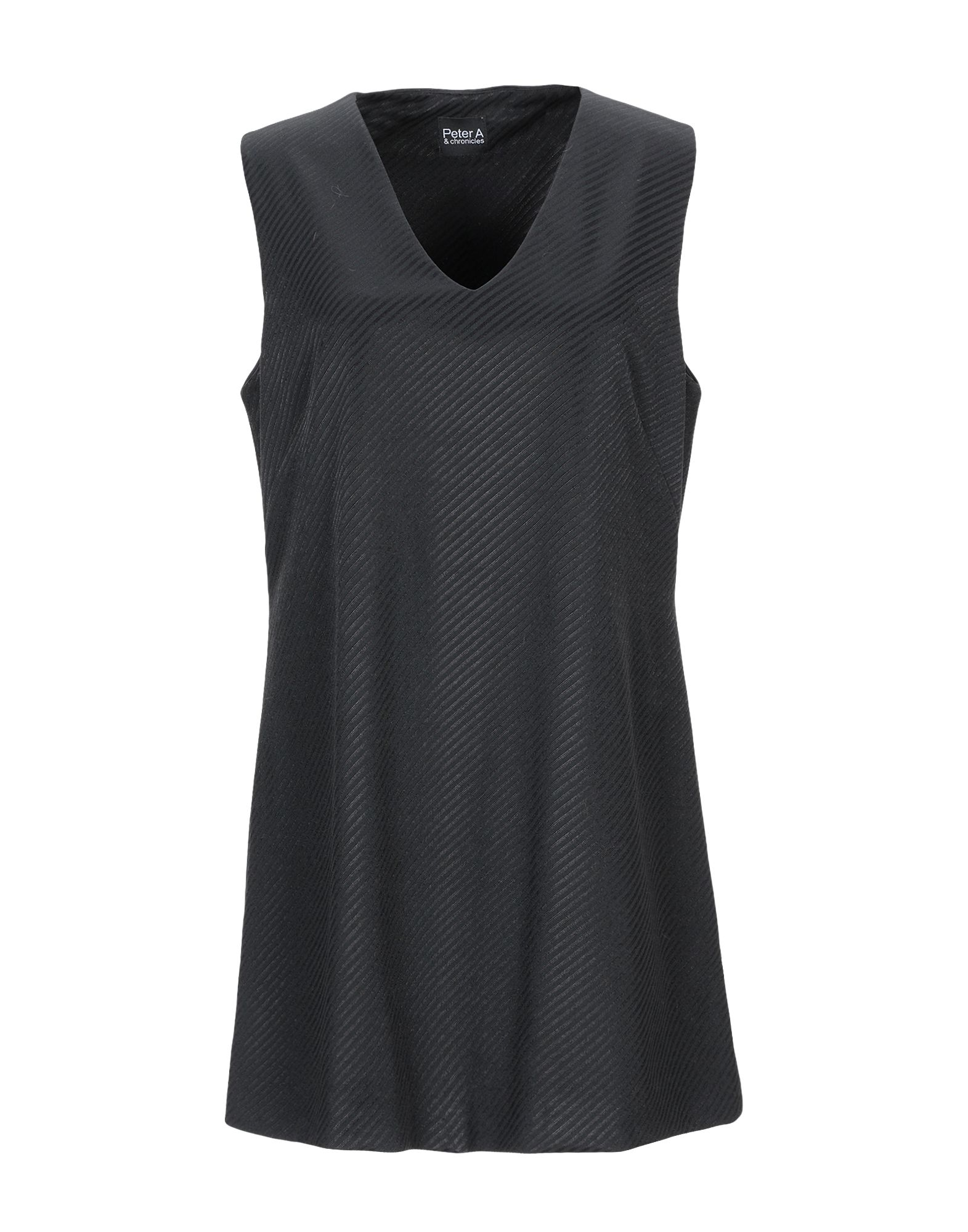 PETER A & CHRONICLES Короткое платье цена и фото