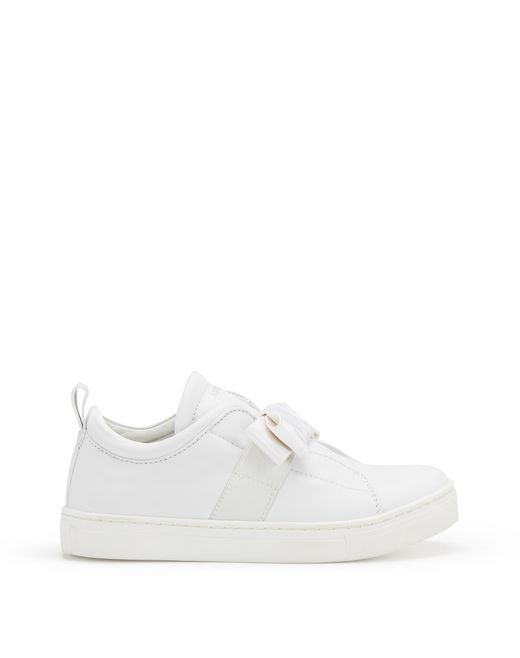 SNEAKERS SLIP-ON CON FIOCCO  - Lanvin
