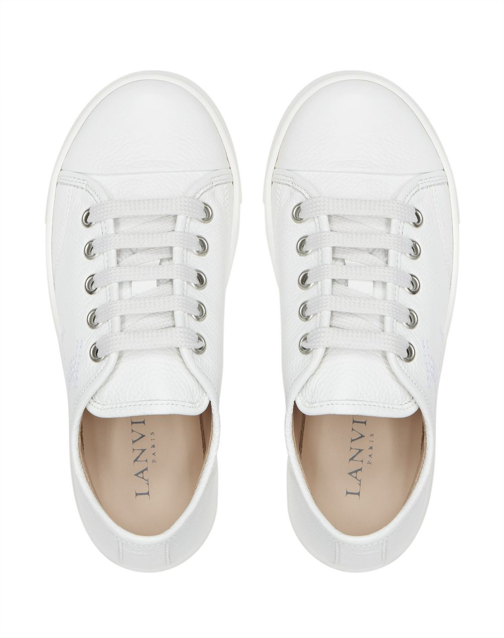 SNEAKERS LOW-TOP BIANCHE      - Lanvin