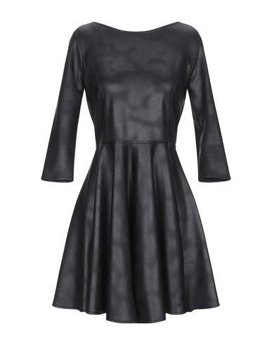 Фото - Женское короткое платье ALESSANDRO LEGORA черного цвета