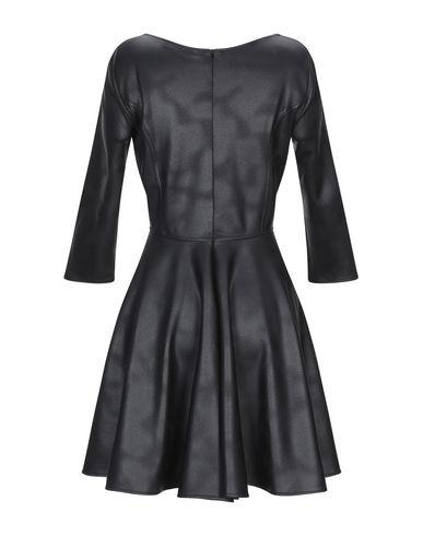 Фото 2 - Женское короткое платье ALESSANDRO LEGORA черного цвета