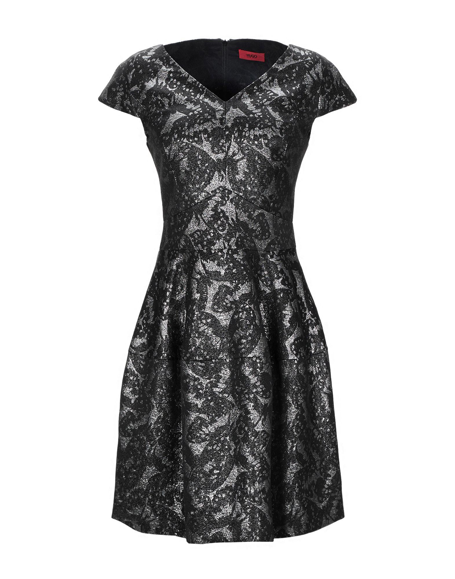 цена HUGO HUGO BOSS Короткое платье в интернет-магазинах
