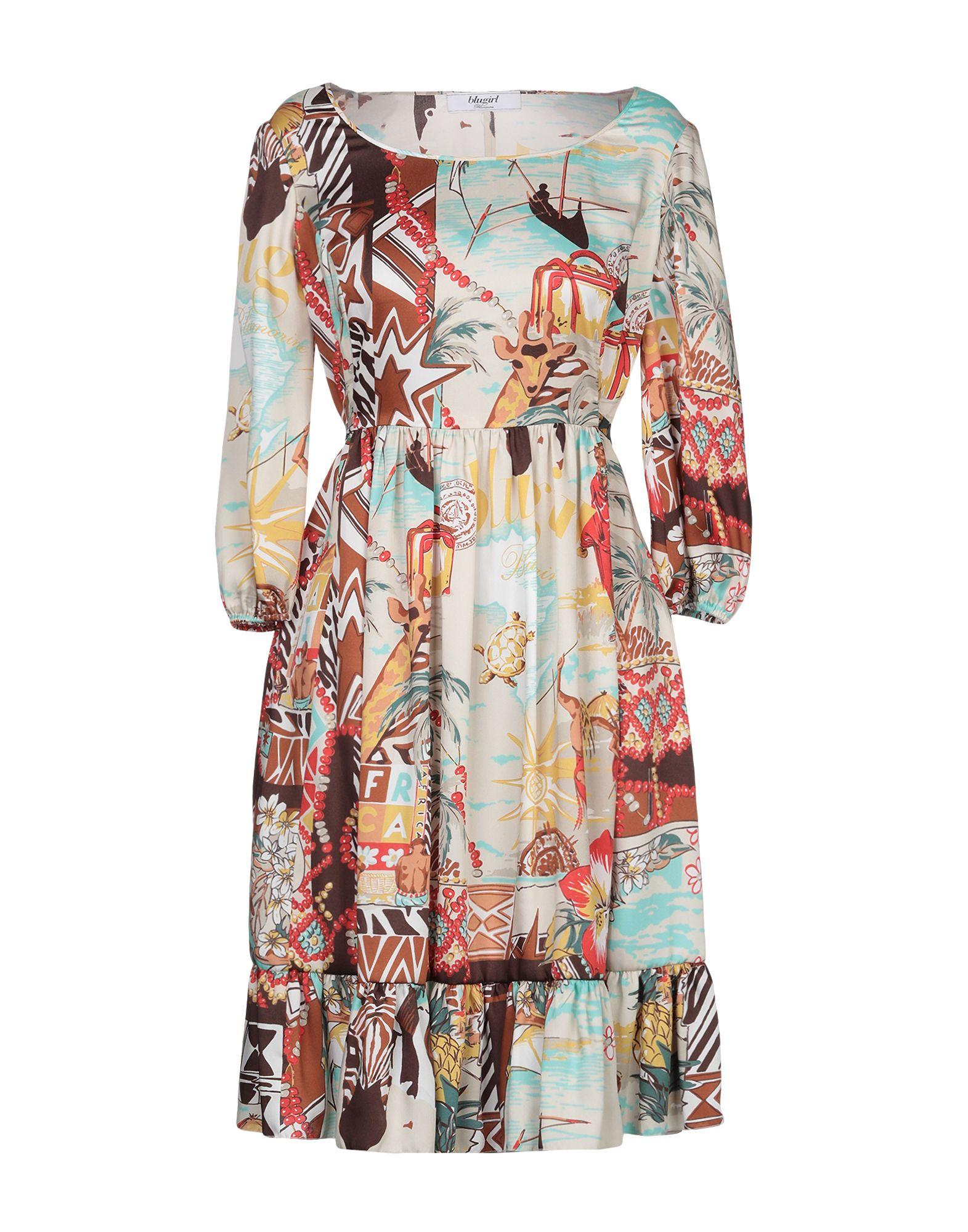 BLUGIRL BLUMARINE Платье до колена