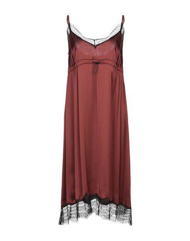Купить Платье до колена коричневого цвета