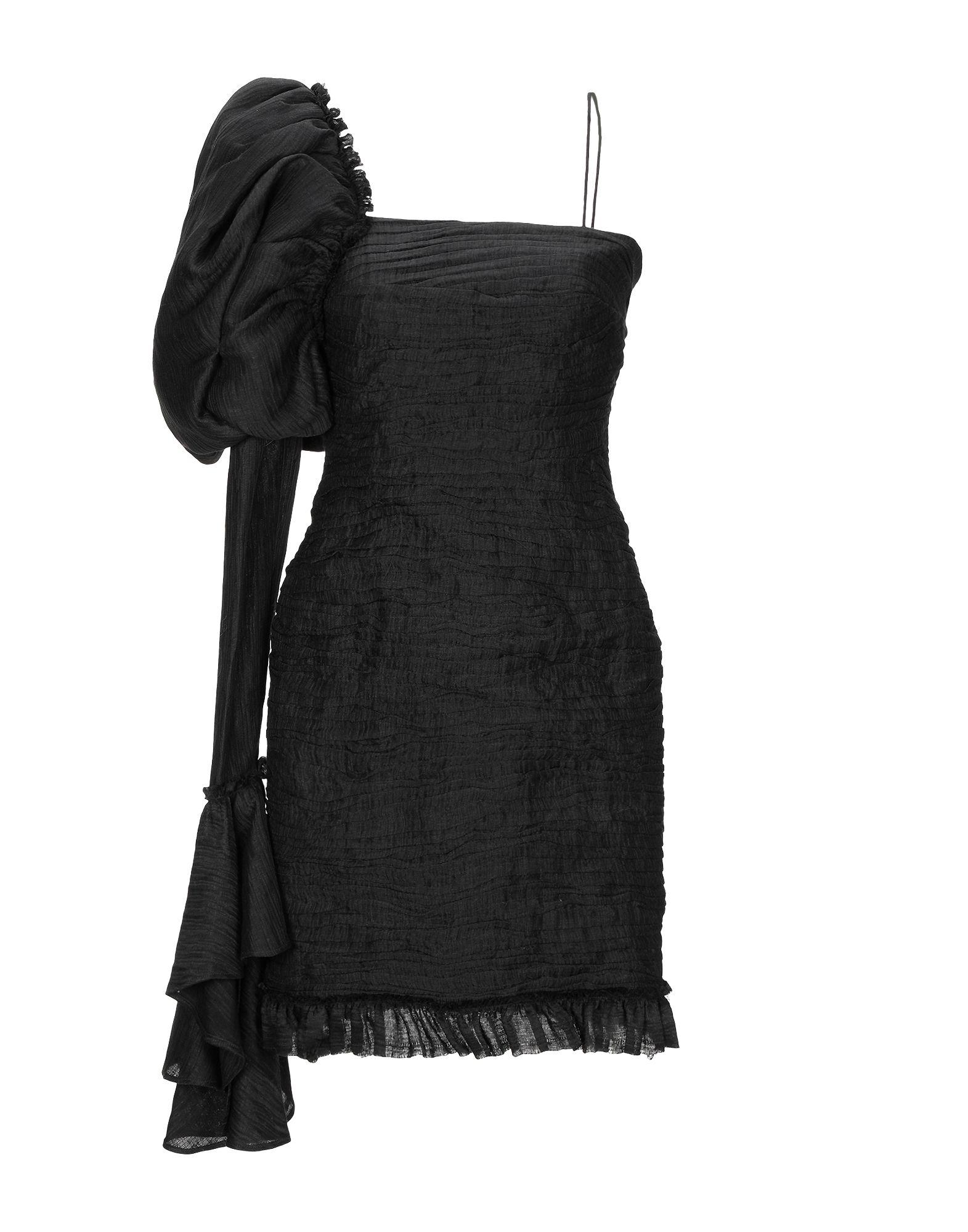 Aje Short Dress In Black