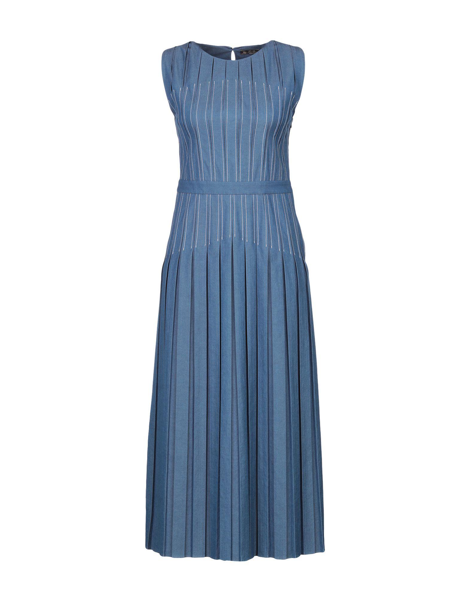 Фото - LORO PIANA Длинное платье платье loro piana fae4012t54u сиреневый