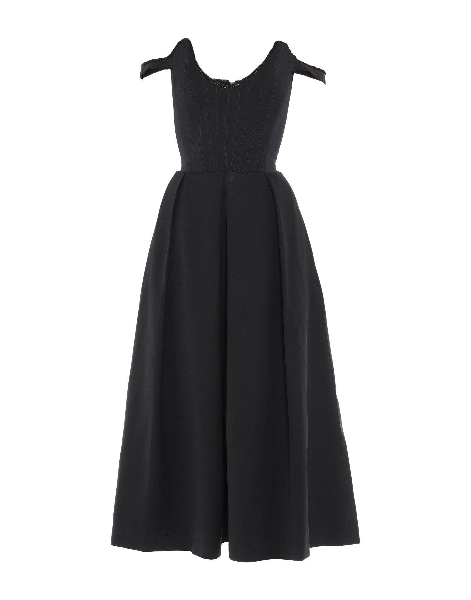PREEN by THORNTON BREGAZZI Платье длиной 3/4 preen line юбка длиной 3 4