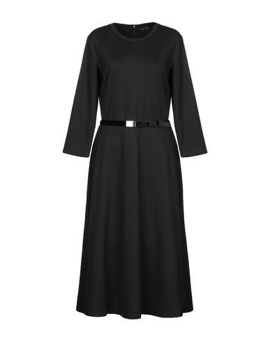 Фото - Платье длиной 3/4 от LAUREN RALPH LAUREN черного цвета