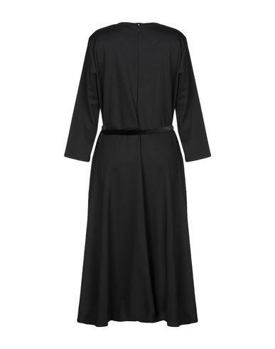 Фото 2 - Платье длиной 3/4 от LAUREN RALPH LAUREN черного цвета