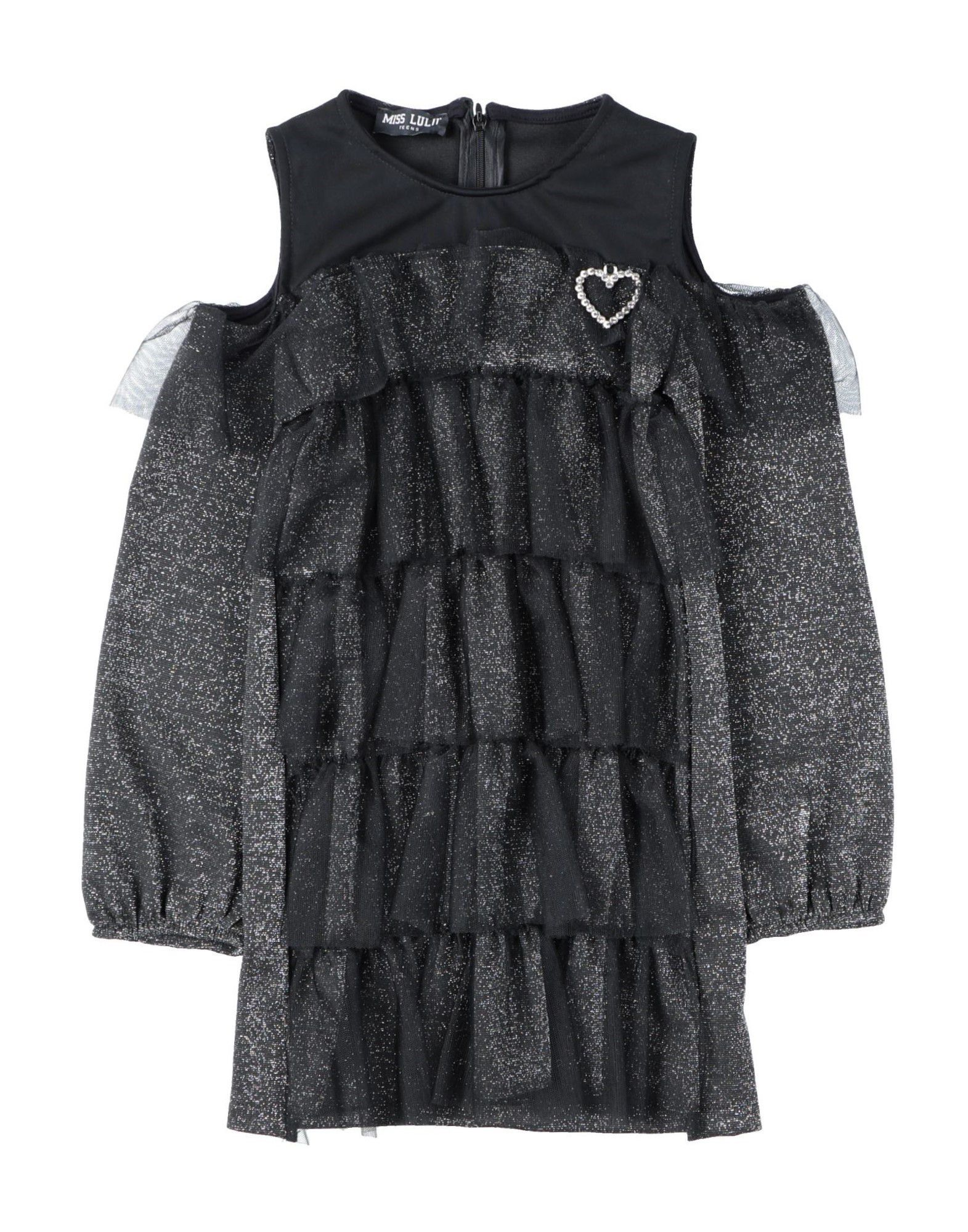 Miss Lulù Kids' Dresses In Black