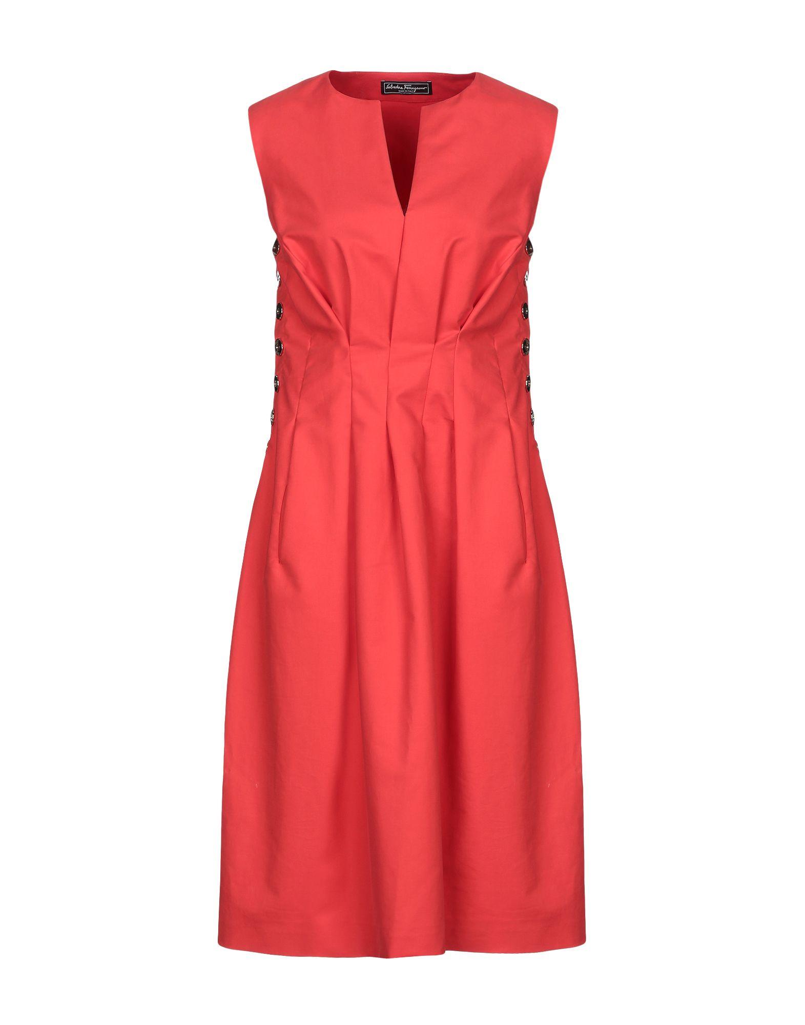 купить SALVATORE FERRAGAMO Платье до колена по цене 33750 рублей