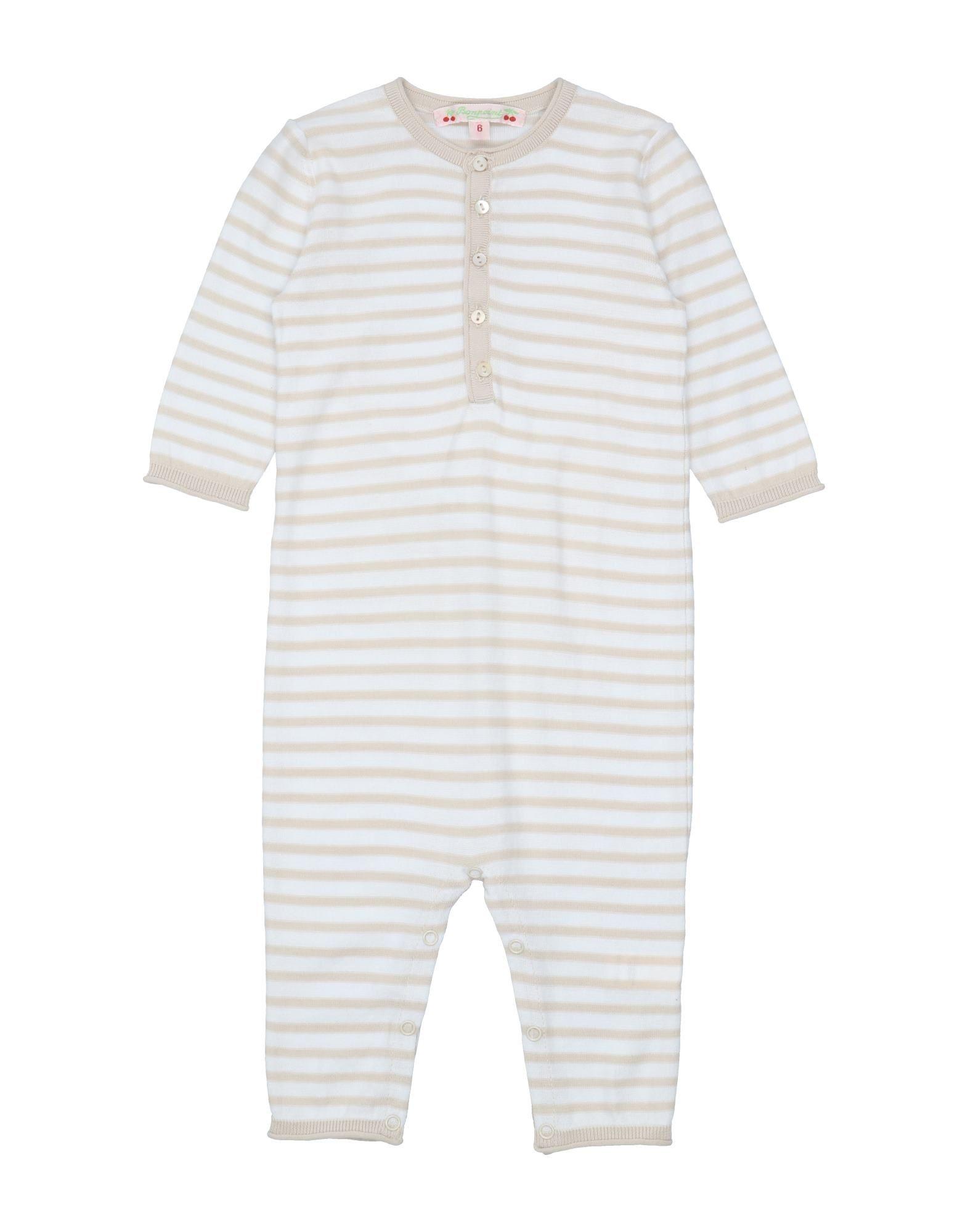 YOOX.COM(ユークス)《セール開催中》BONPOINT ボーイズ 0-24 ヶ月 乳幼児用ロンパース ベージュ 6 コットン 100%