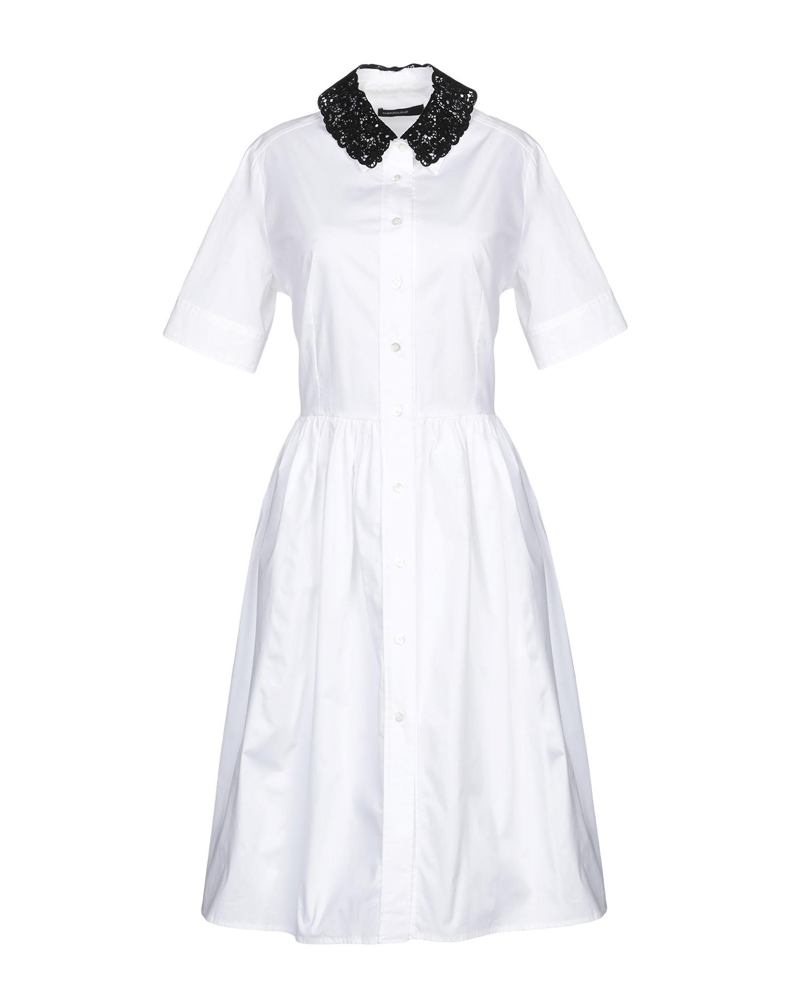 FABRIZIO LENZI Платье до колена недорго, оригинальная цена