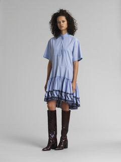 Waist-tie dress