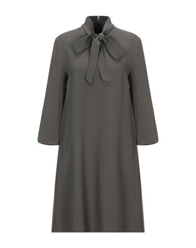 Купить Женское короткое платье  цвет зеленый-милитари