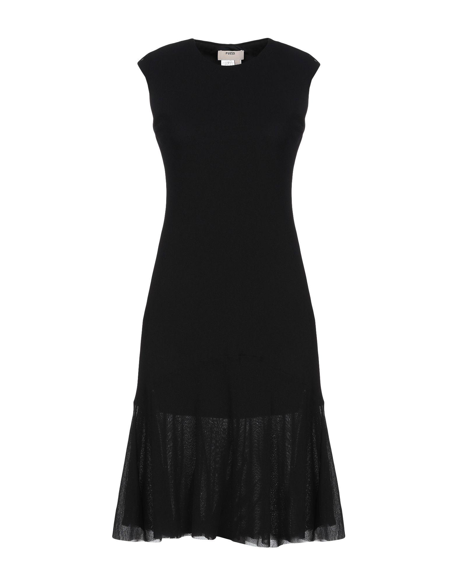 FUZZI Короткое платье fuzzi длинное платье
