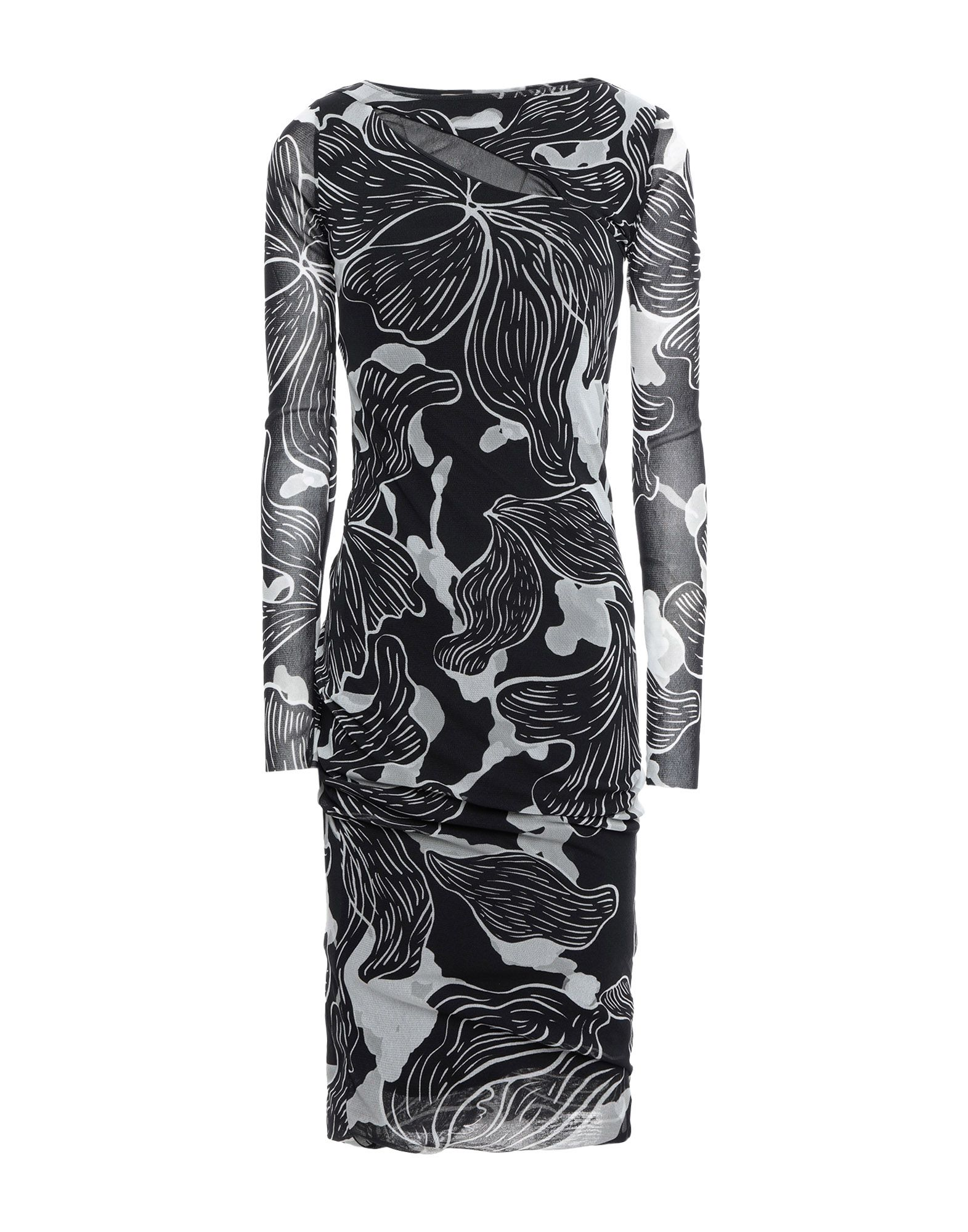 FUZZI Платье до колена fuzzi длинное платье