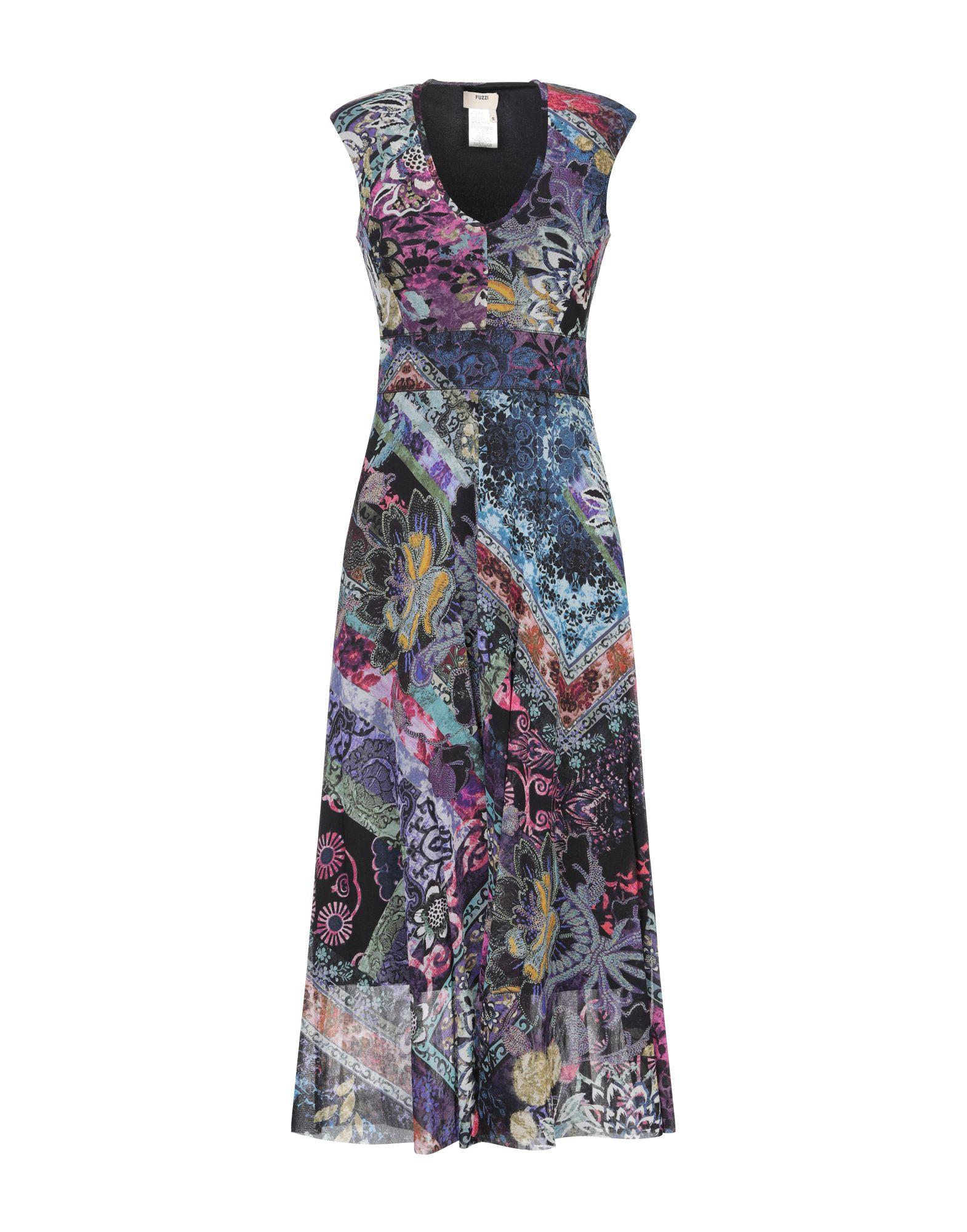 FUZZI Платье длиной 3/4 fuzzi длинное платье