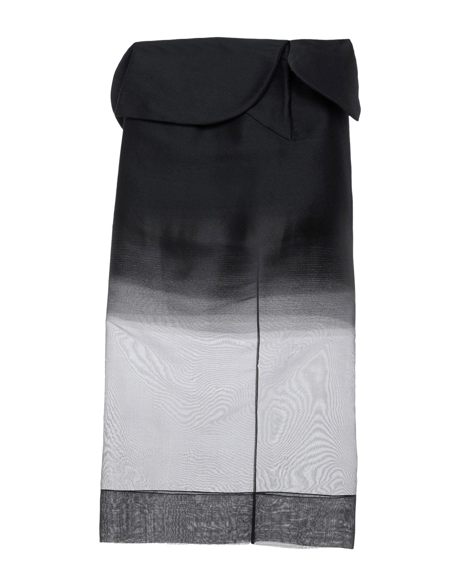 ANTONIO BERARDI Длинная юбка antonio berardi легкое пальто
