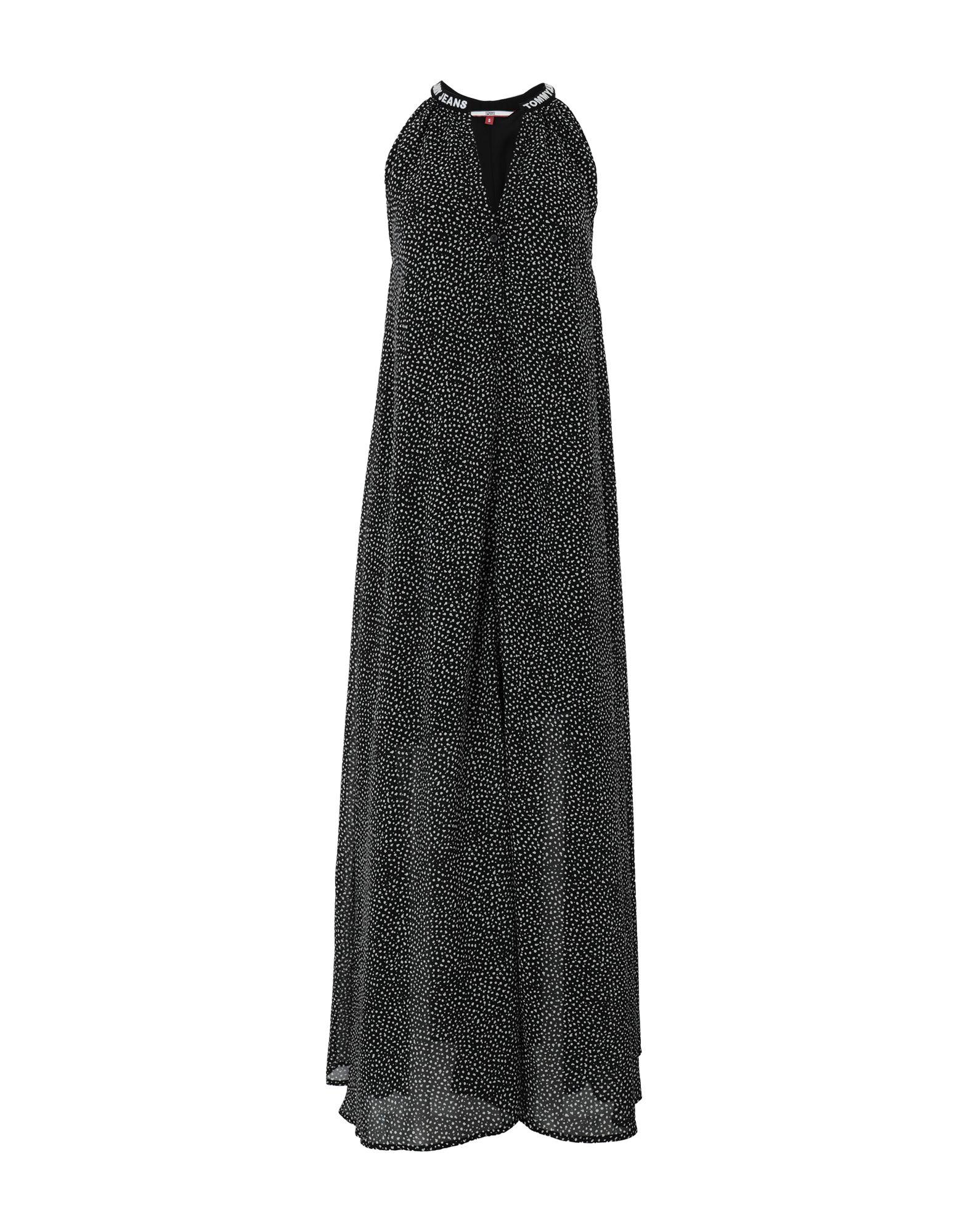 TOMMY JEANS Длинное платье платье tommy jeans tommy jeans to052ewbwgf8