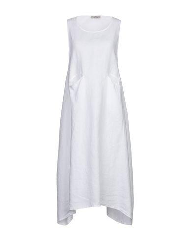 Фото - Платье до колена от SAINT TROPEZ белого цвета