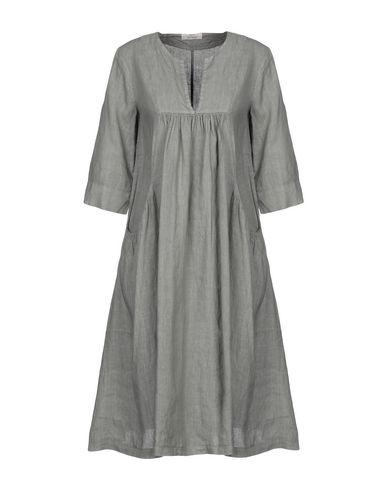 Фото - Платье до колена от SAINT TROPEZ серого цвета