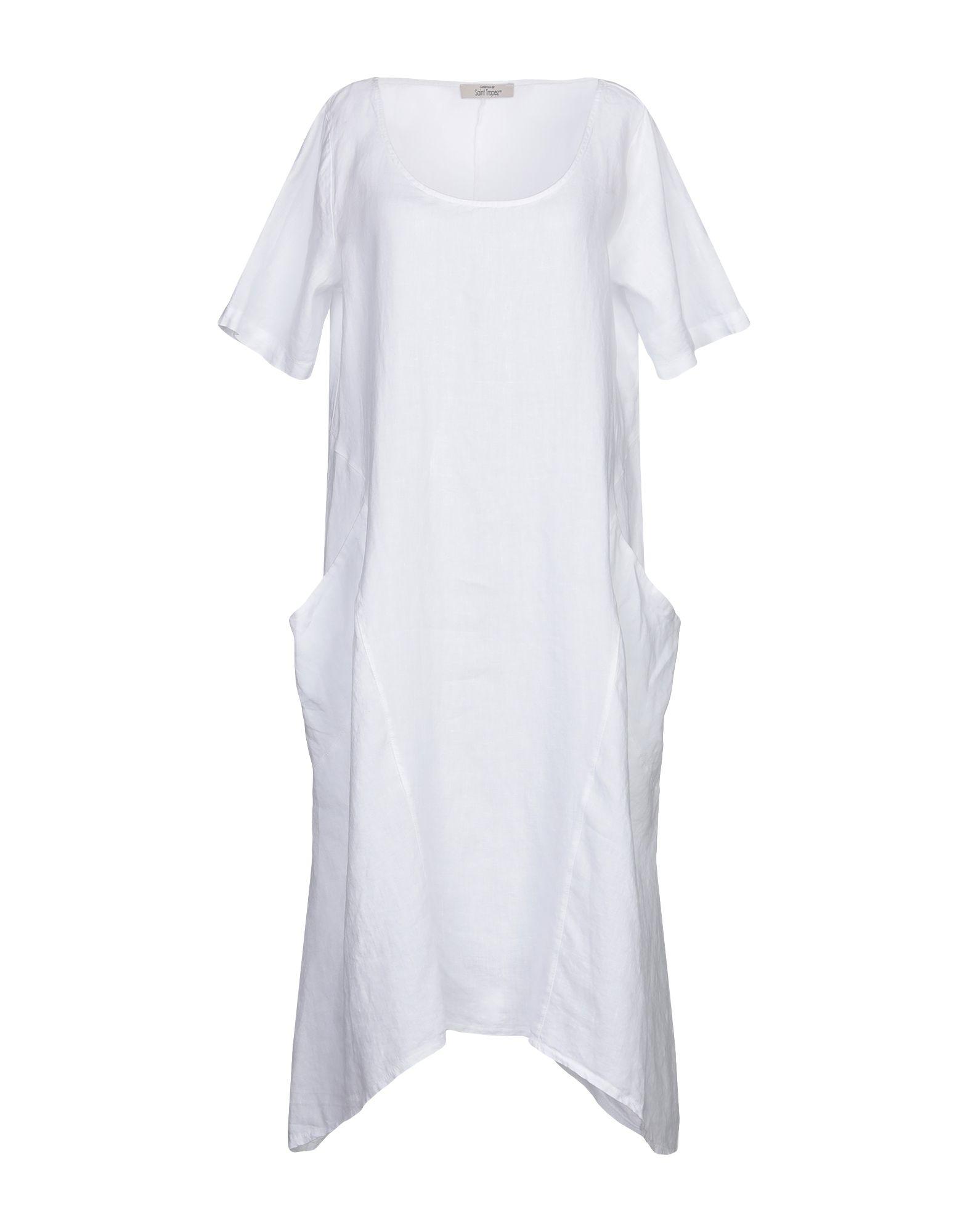 SAINT TROPEZ Платье длиной 3/4 недорго, оригинальная цена