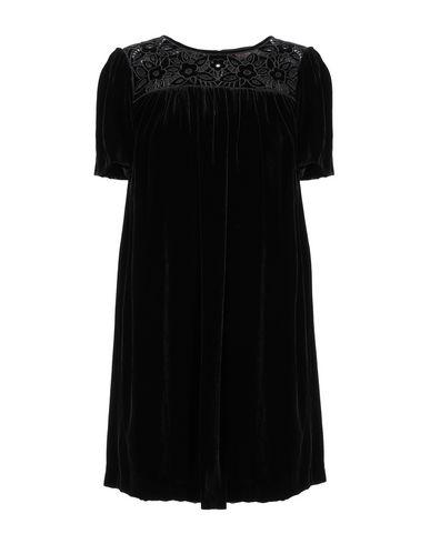 Фото - Женское короткое платье TWINSET черного цвета