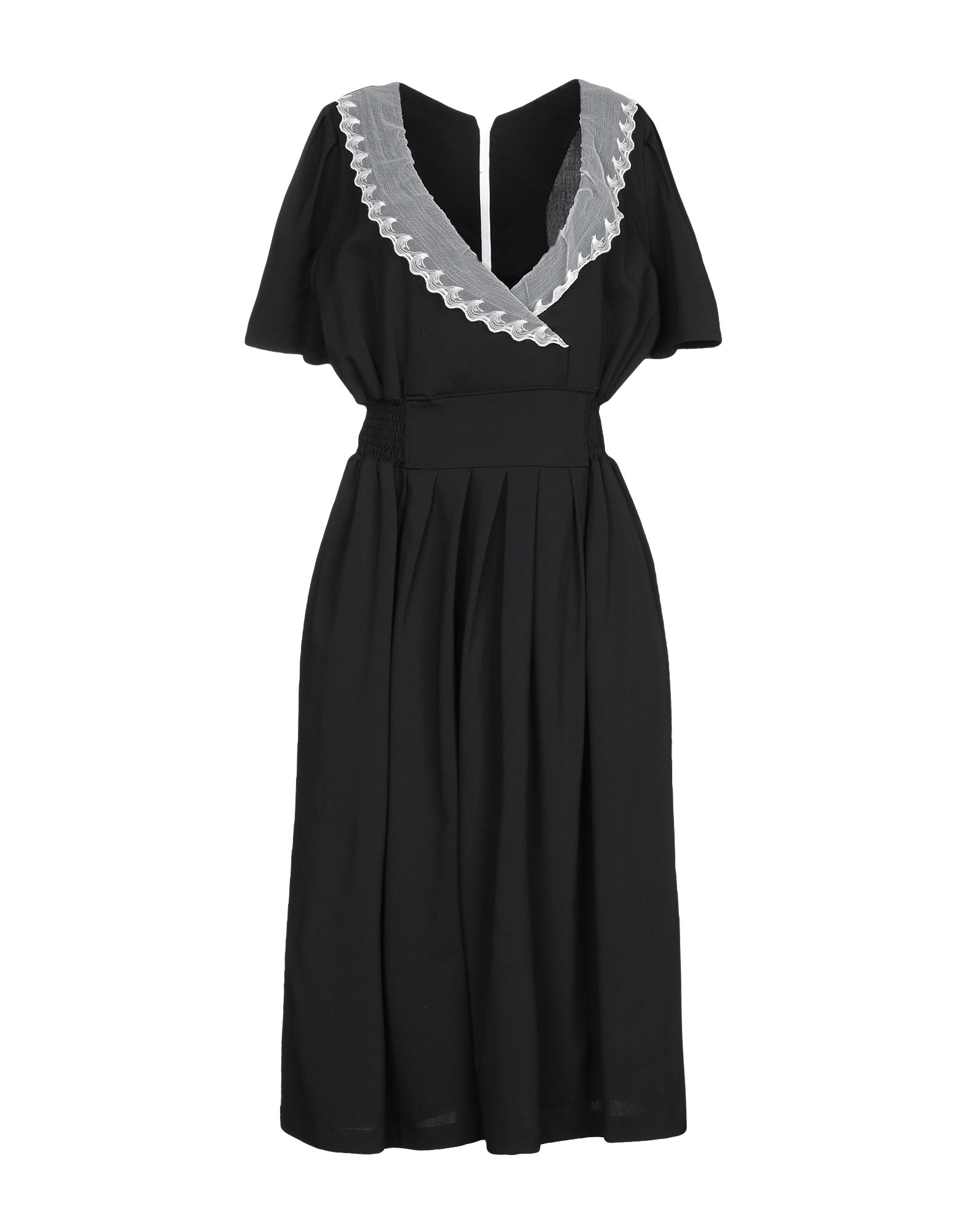 JULIEN DAVID Платье до колена цены онлайн