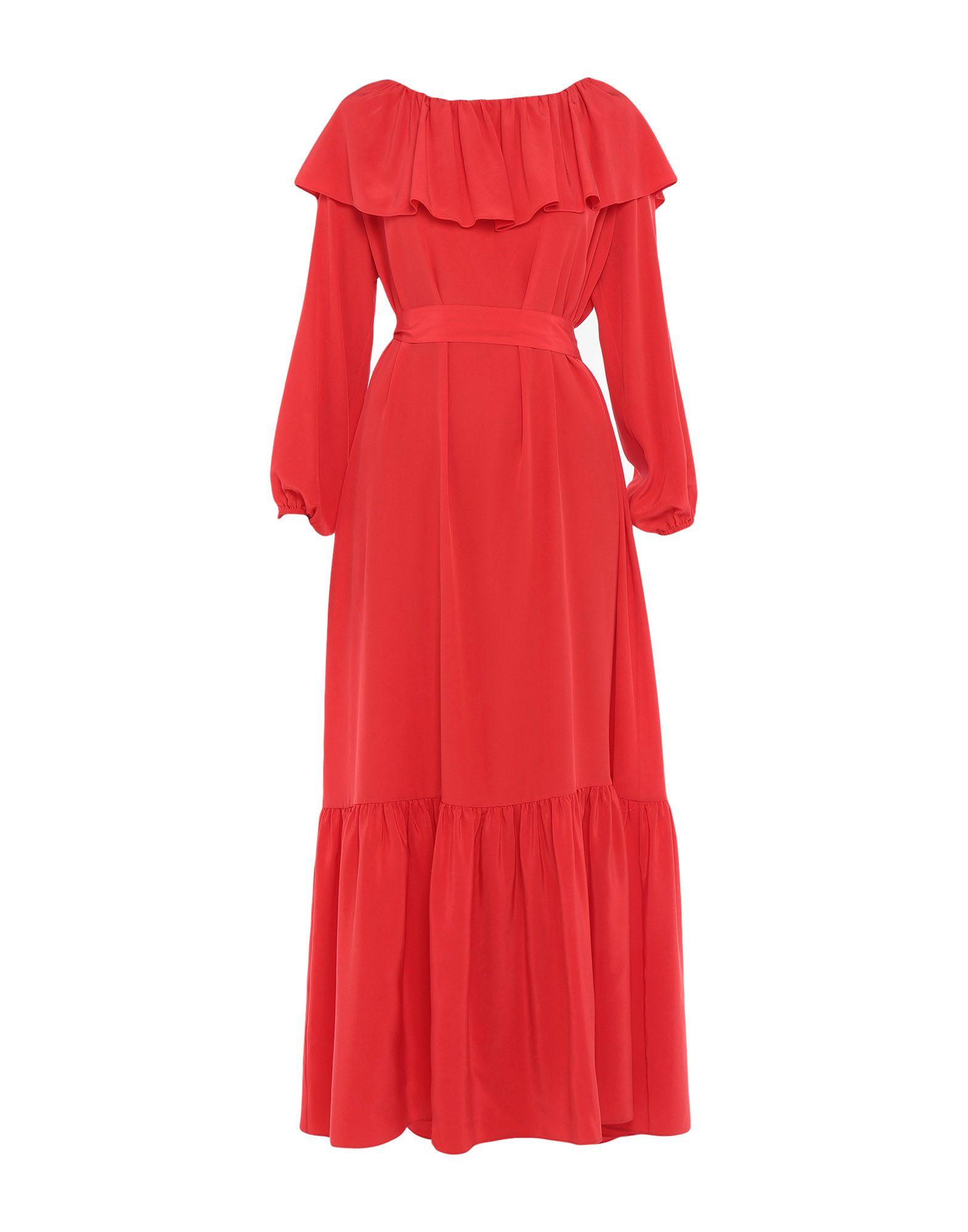 THE ROW Длинное платье цена 2017