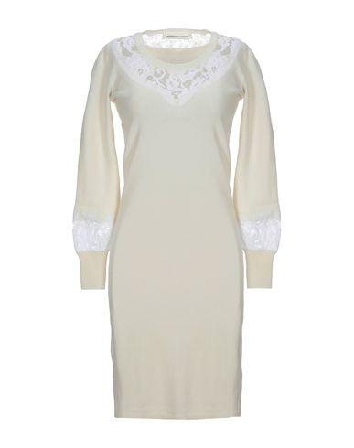 Купить Платье до колена от LAMBERTO LOSANI цвет слоновая кость