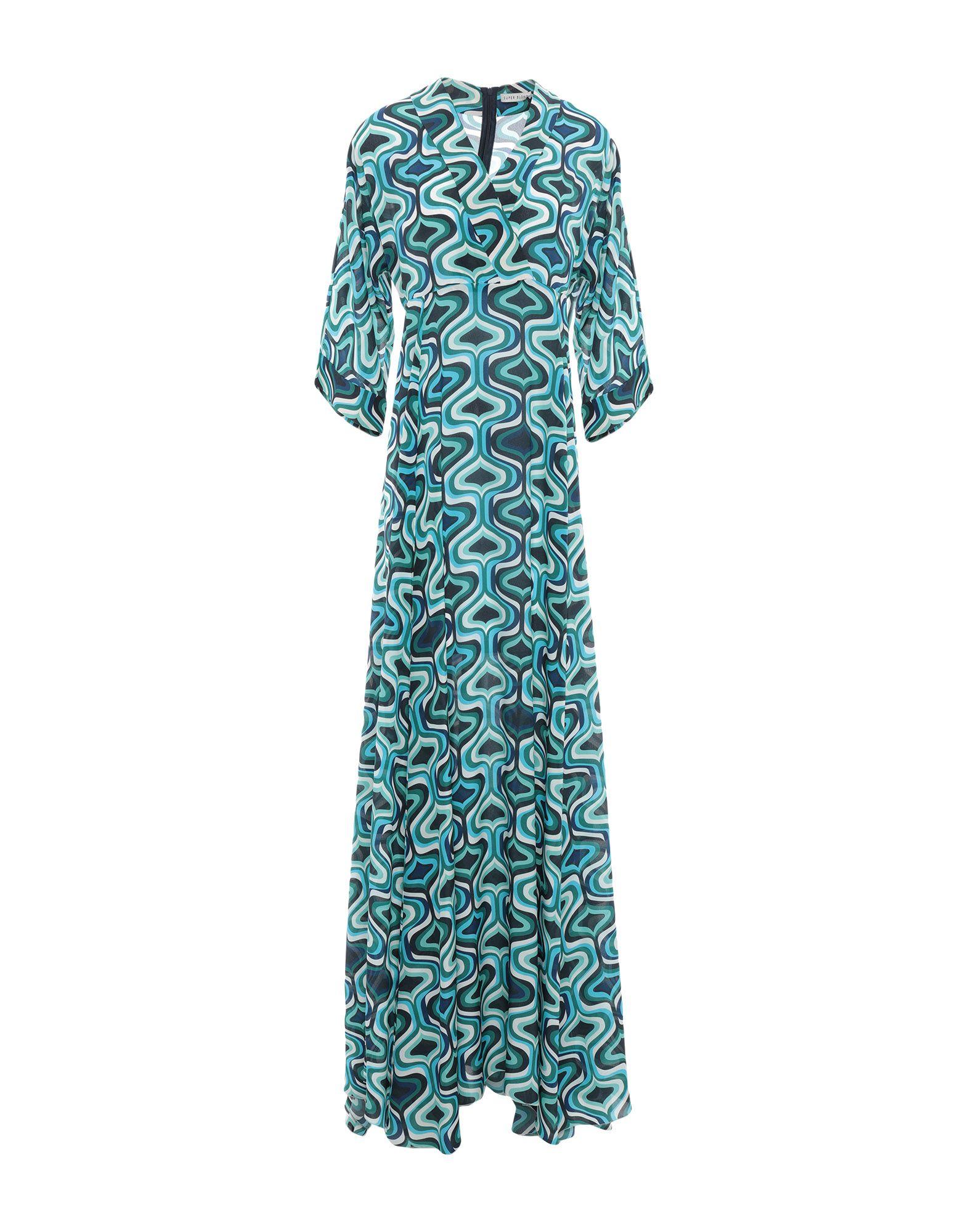SUPER BLOND Длинное платье