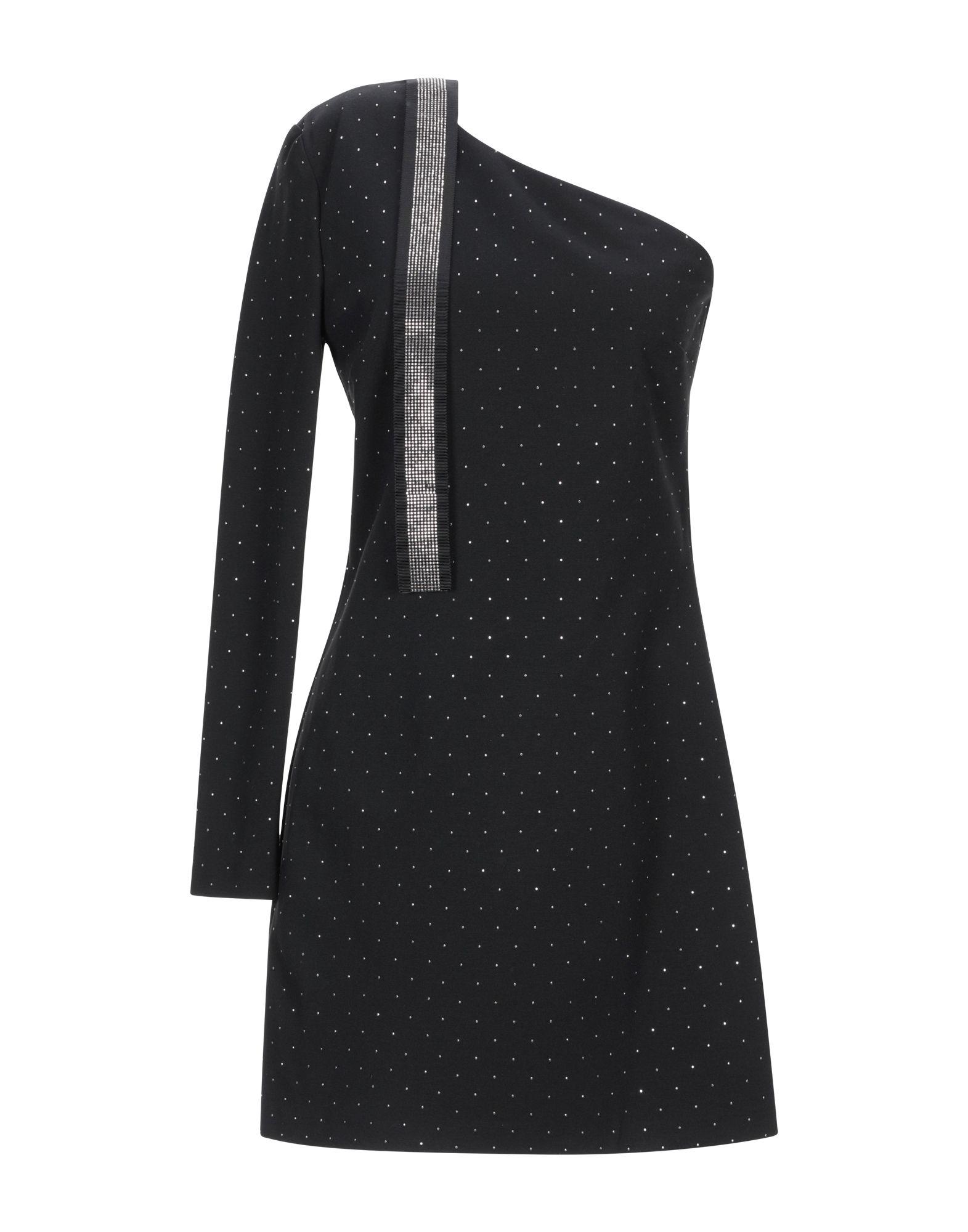 ATOS LOMBARDINI Короткое платье платье коктейльное из одно плечо