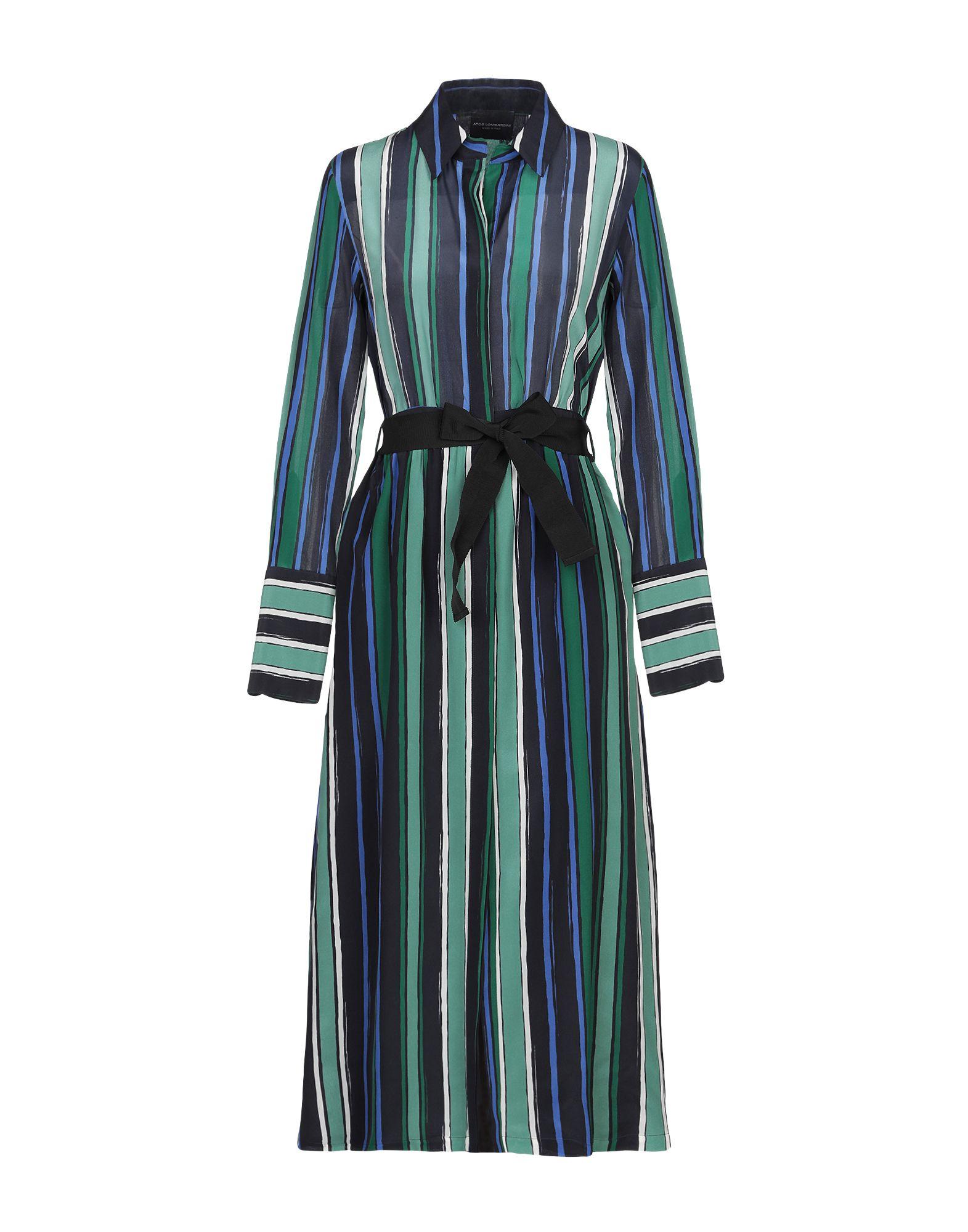 ATOS LOMBARDINI Платье длиной 3/4 violet atos lombardini юбка длиной 3 4