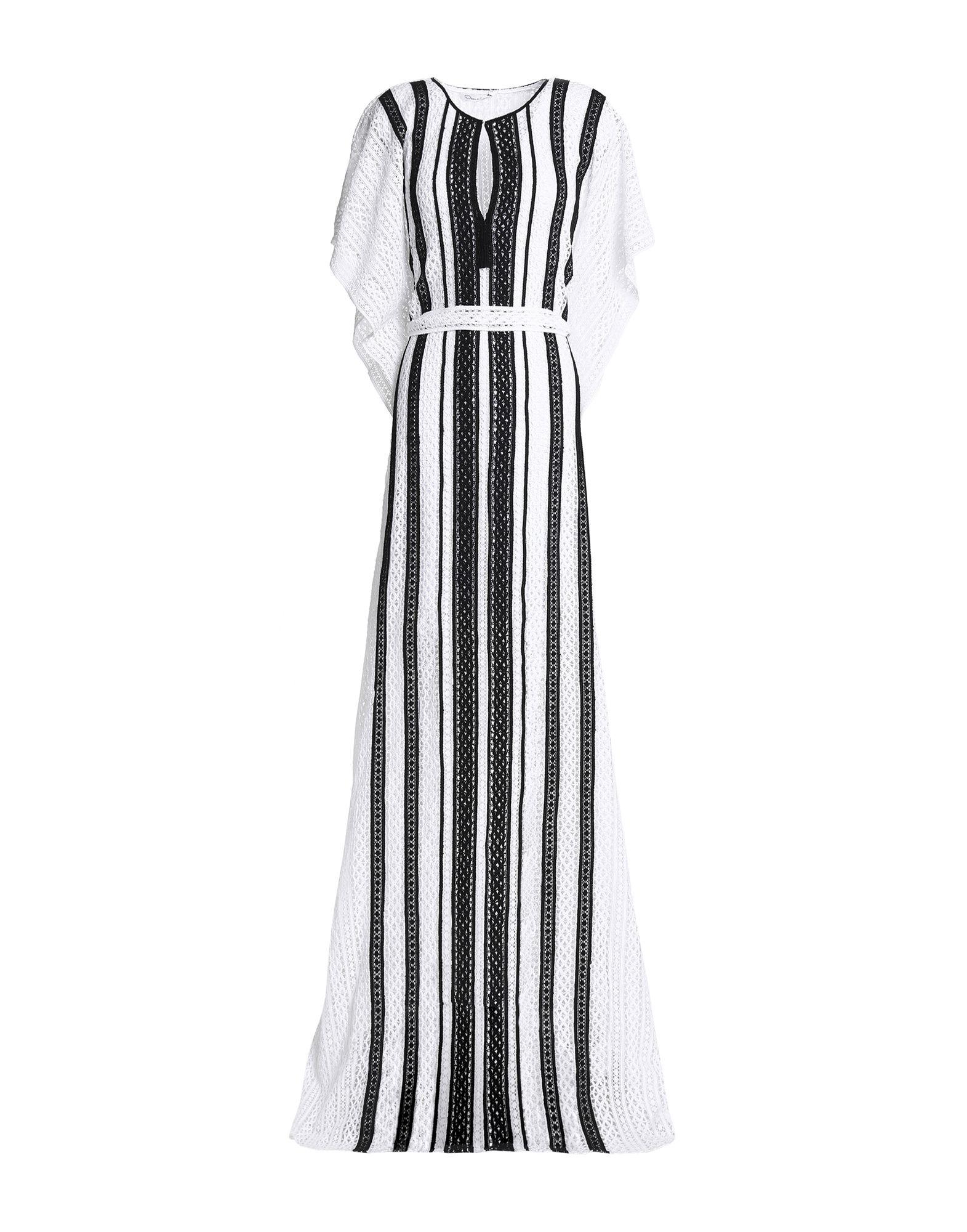 OSCAR DE LA RENTA Длинное платье la perla длинное платье