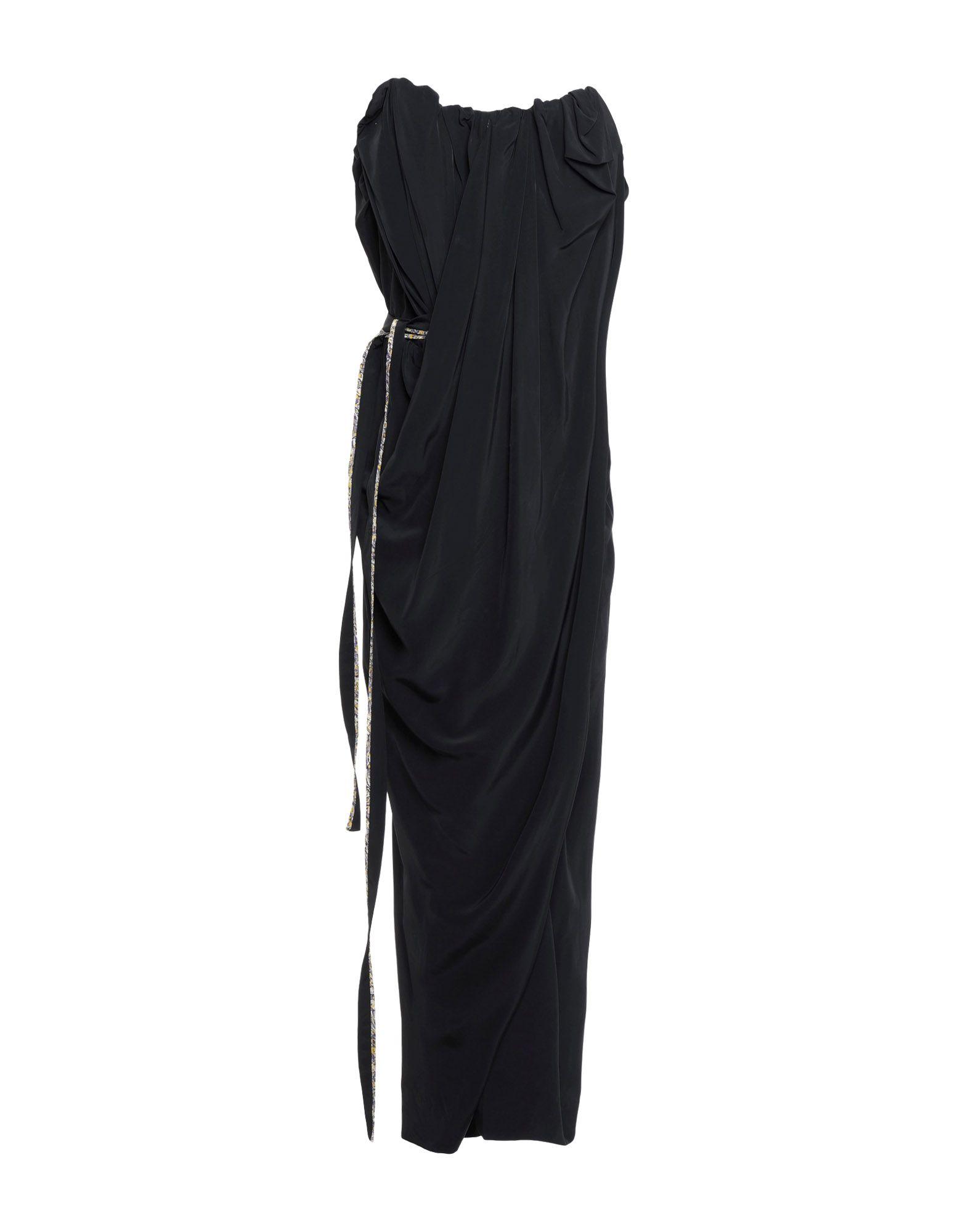купить ANDREAS KRONTHALER for VIVIENNE WESTWOOD Длинное платье по цене 88800 рублей