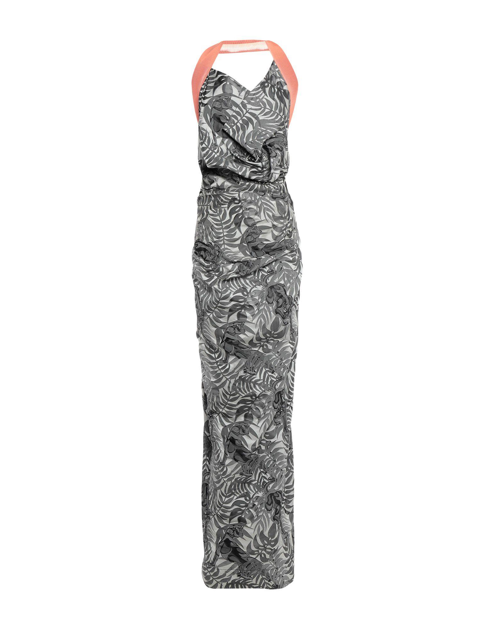купить ANDREAS KRONTHALER for VIVIENNE WESTWOOD Длинное платье по цене 123200 рублей