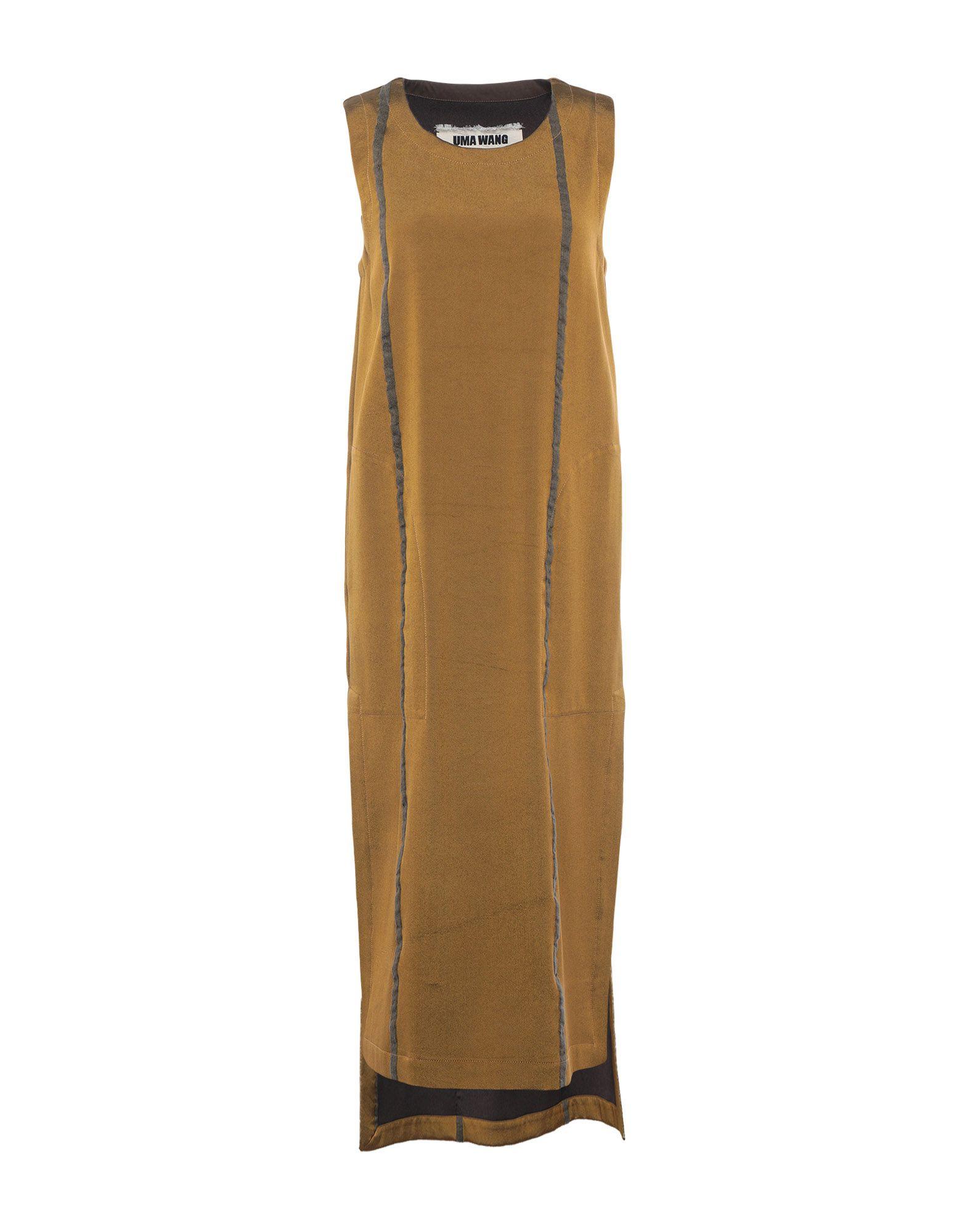 UMA WANG Платье до колена uma wang комбинезоны без бретелей