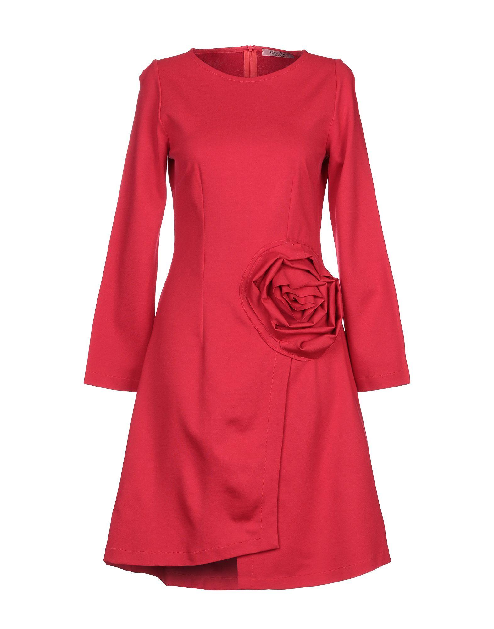 ROSE' A POIS Платье до колена rose a pois короткое платье
