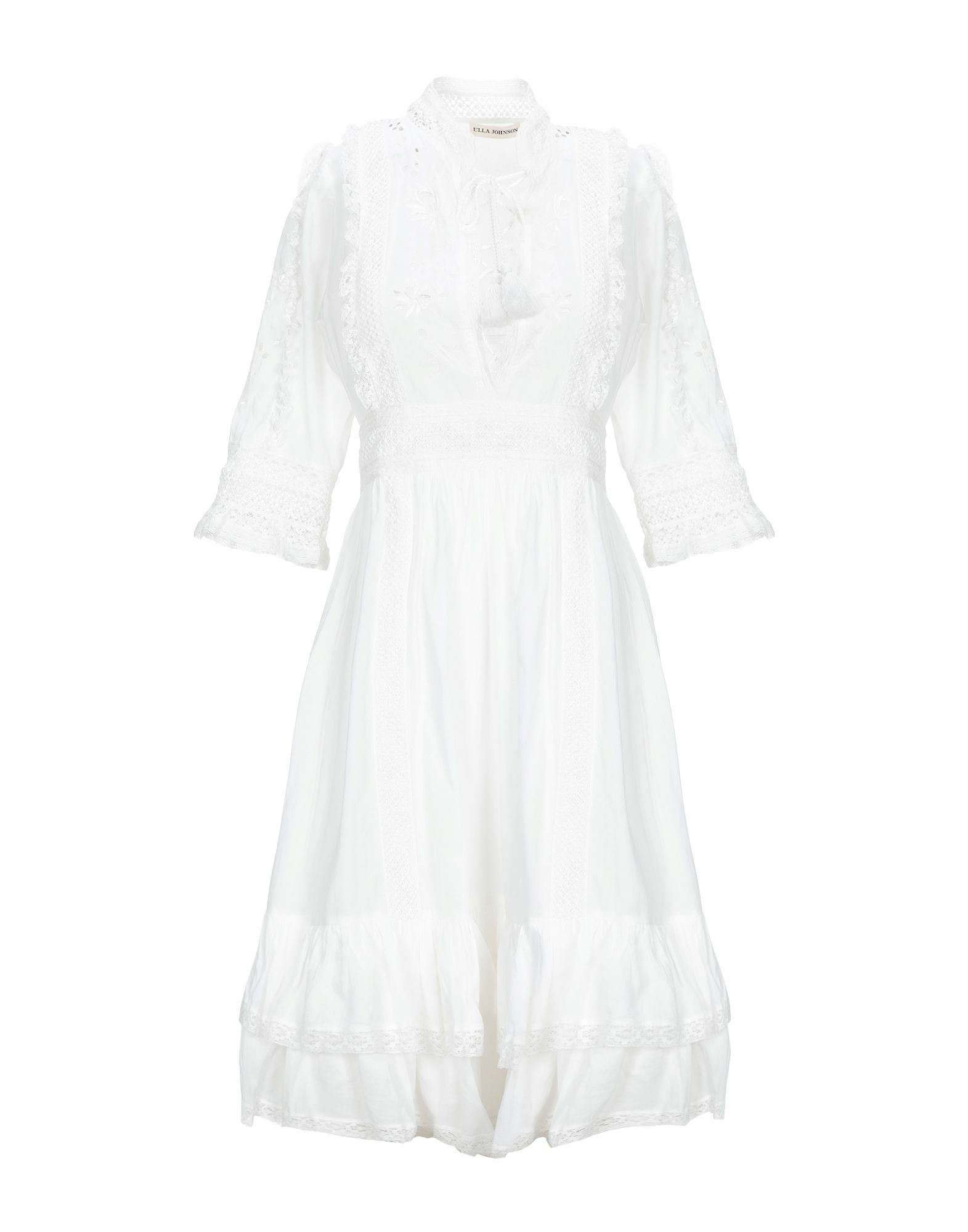 ULLA JOHNSON Короткое платье ulla johnson накидка