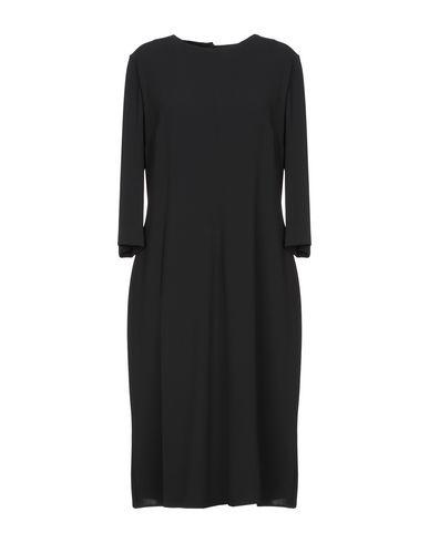 Фото - Платье до колена от ASPESI черного цвета