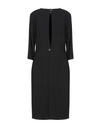 Фото 2 - Платье до колена от ASPESI черного цвета