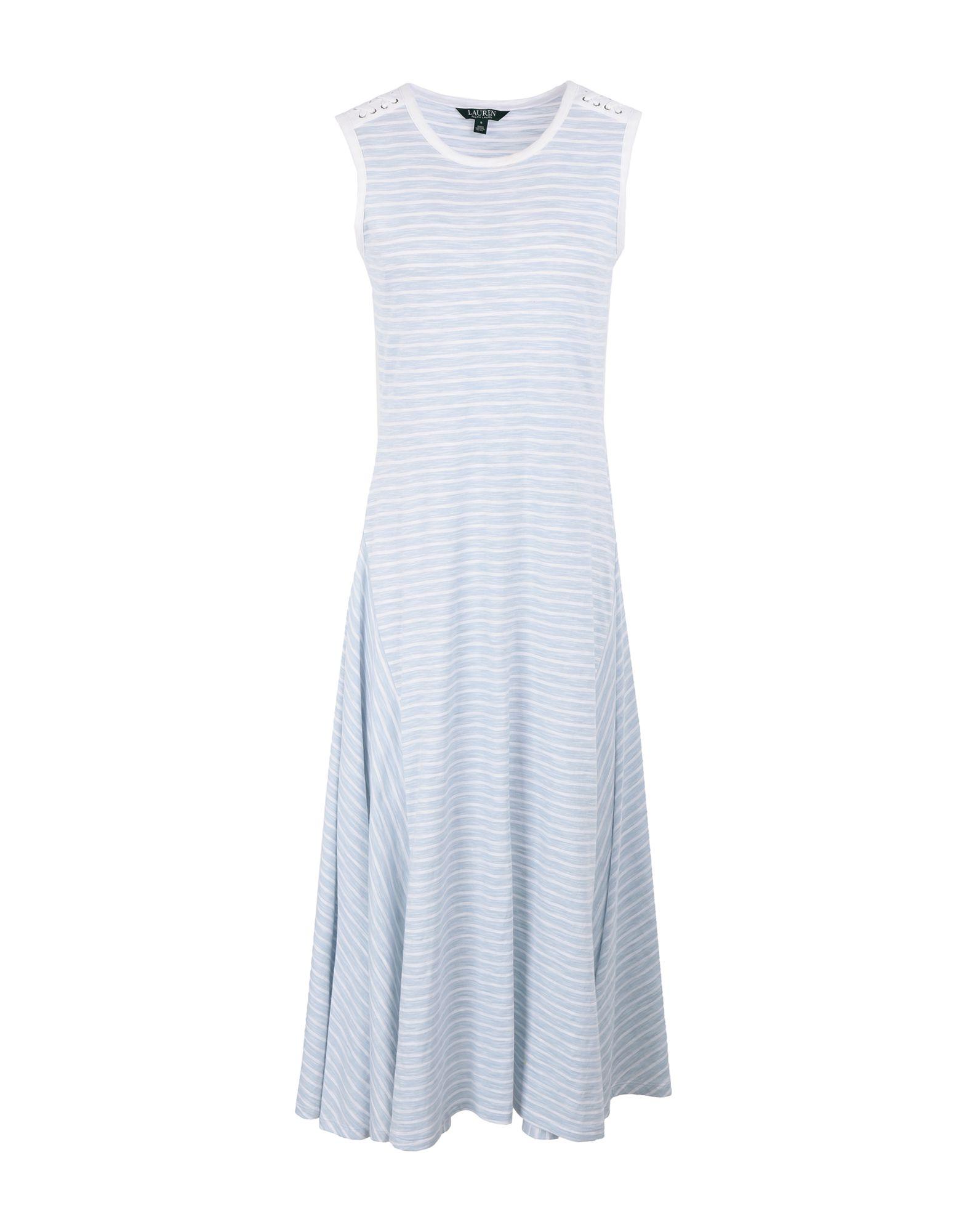 LAUREN RALPH LAUREN Платье длиной 3/4 платье lauren ralph lauren woman lauren ralph lauren woman la097ewbxee5