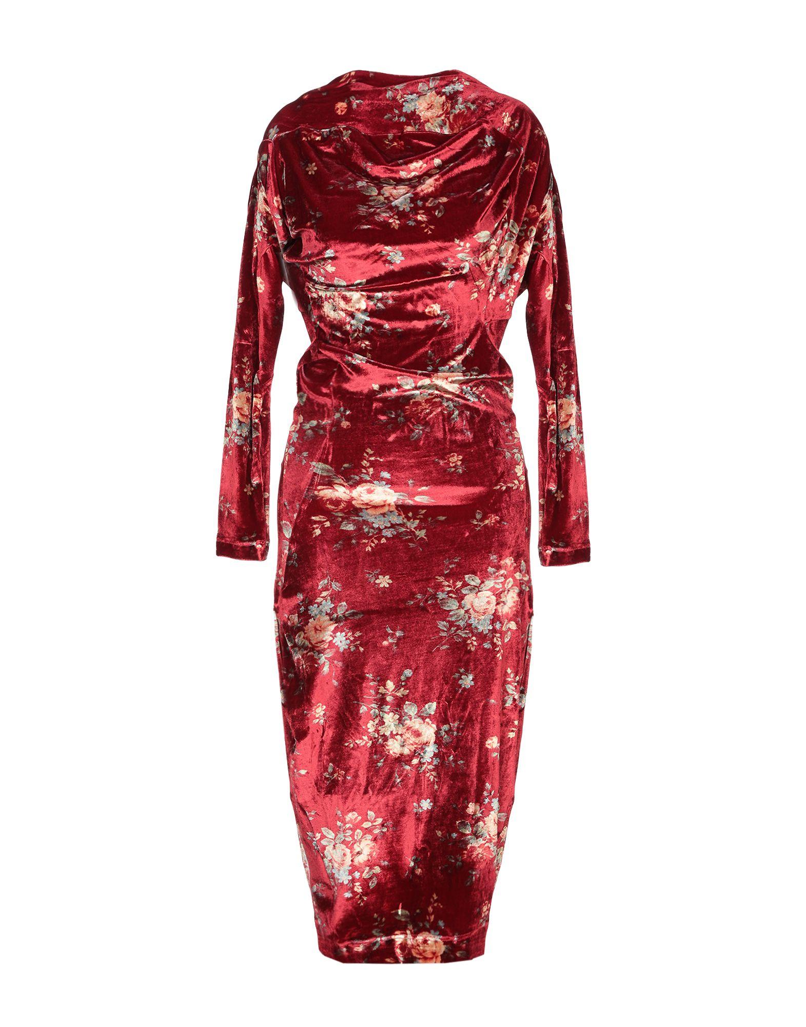 ANDREAS KRONTHALER x VIVIENNE WESTWOOD Платье длиной 3/4